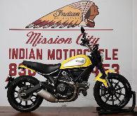 6 785  2016 Ducati Scrambler Icon 62 Yellow