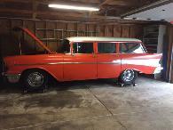 21 995  1957 Chevrolet Bel Air Wagon