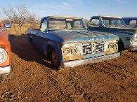 3 995  1961 Dodge D100 Sweptline