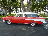 77 895  1957 Chevrolet Bel Air Nomad
