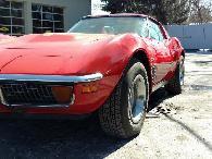 9 900  1972 Chevrolet Corvette