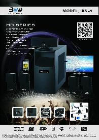 1 300  BNW Acoustics RS-9 Home Theater System