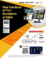 1 400  Smart Surveillance Systems GXR-8CH01 Home Security System