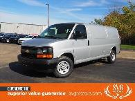 26 413  Wow A 2017 Chevrolet Express 2500 with only 9 Miles