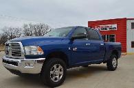 24 995  2010 Dodge Ram 2500 SLT 6 7L Cummins Diesel 4x4 LONE STAR NAV Blue