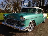54 900  1955 Chevrolet Bel Air Post  Must See
