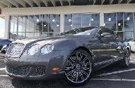 69 995  2008 Bentley Continental GT Speed Coupe  Tampa Mitsubishi  813-397-5200