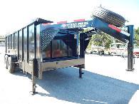 8 495  2017 TEXAS PRIDE 16ft  Dump Trailer Special 16 000 GVWR
