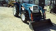 NICE Mitsubishi MT4801FD diesel 4x4 tractor w loader