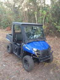 5 000  2010 Polaris Ranger EV