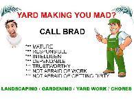 Landscaping  Weeds  Planting  Trimming  Yard Work  Gardening  Chores