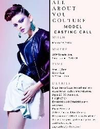 Calling All Models - Model Casting Call