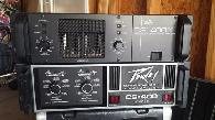 Peavey 1810 speakers  Powers Amps  SKB Rack  etc