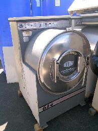 350  Heavy Duty Milnor Front loading washing machine 208-240V stainless steel 30015C4A