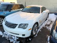 3 500  Wow A 2004 Chrysler Crossfire with 150 739 Miles