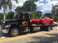 Towing Service Servicio de grua 305-551-0077 tow truck near me remolques de auto gruero en Miami