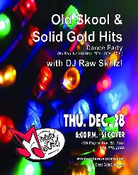 Thur  Dec 28th Solid Gold Soul  DJ Dance Party at Minnesota Music Cafe