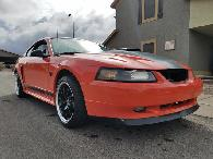 9 500  2004 Competition Orange Mach 1  9 5k OBO