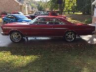3 800  1966 Ford Galaxie 500