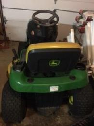800  tractor john deere L105    800 and tiller for sale