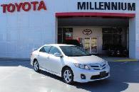 11 995  Classic Silver Metallic 2013 Toyota Corolla  11 995 00  Call 888 520-5575