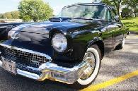 42 500  1957 Ford Thunderbird  Personal Luxury Car