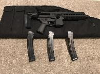 2 000  SIG MPX PISTOL WITH BRACE  9MM