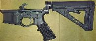 250  For Sale  Assembled Lower Receiver New With 6-Pos MagPul MOE Stock Has BufferNo Spring