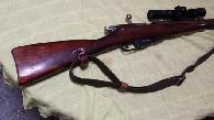 250  PRIVATE Mosin Nagant 9130 rifle with rail  scope matching number CAI import - I have not fired it