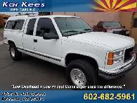 _500654- 1998 GMC Sierra 1500 Z71 Off Road 4WD for sale in Phoenix AZ 1999 1997 2000 1996
