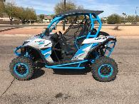 17 499  2016 Can-Am Maverick X ds TURBO 1000R Hyper Silver  Octane Blue