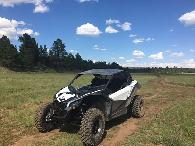 20 950  Can Am 2017 Maverick X DS turbo R - Fantastic package includes trailer  spare wheel set and more