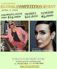 25 000 Recording Artist Competition - April 1
