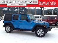 19 400  2010 Jeep Wrangler Unlimited Islander Pkg   Hard  Soft Top   One Owner