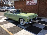 38 995  Stop By and Test Drive This 1956 Ford Thunderbird with 71 125 Miles