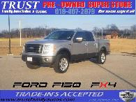 2009 Ford F150 FX4 Off Road Supercrew   Leather  Loaded   All Power Beautiful Inside  Out