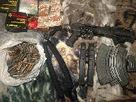 1 200  AK 47 pistol