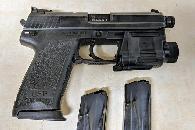 1 200  HK USP Tactical  45ACP  HK UTL  three 12-round mags  case  thread protector