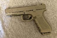 550  Glock 17 gen 4 waftermarket slide  night sights