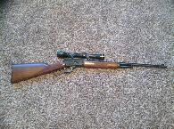 800  Marlin 32-20 1894 CL w dies 300 pieces of brass and roughly 250 gas checked bullets ready to reload