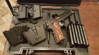 995  Springfield 1911  45 light weight operator NIB 6 mags 2 mag holders and holster