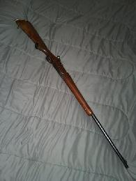 WTT Sporterized winchester  257 Roberts with Mauser action