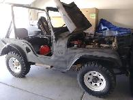 3 500  JEEP Willys 1955 V8  Chevy
